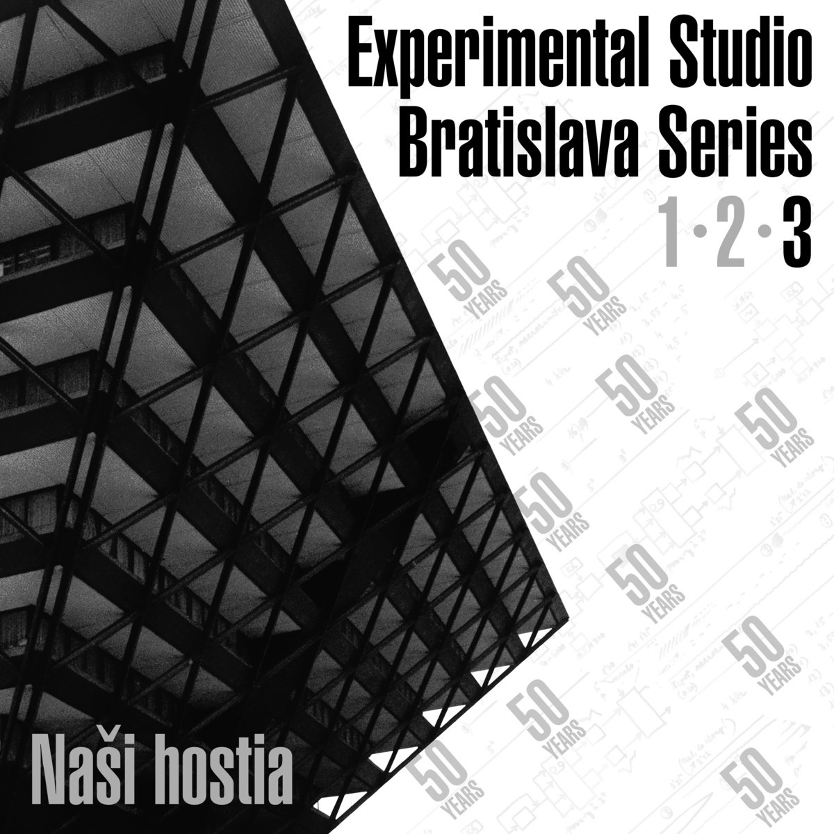 "4mg Records - ""Naši Hostia: Experimental Studio Bratislava Series, vol. 3"""