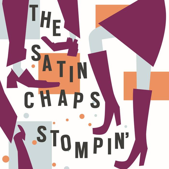 "Stompin' b/w Hard Drivin' 7"" Single cover art"