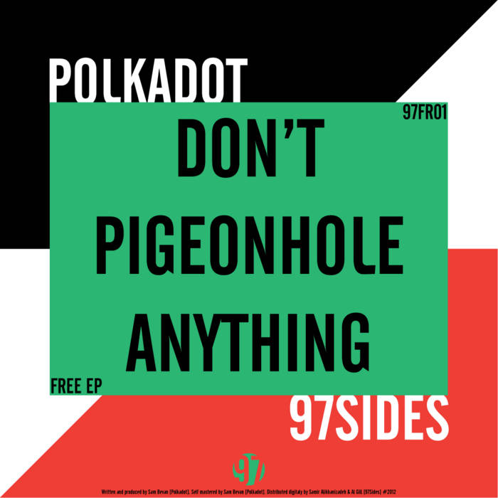 Don't Pigeonhole Anything cover art