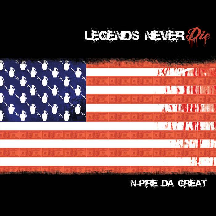 Legends Never Die cover art