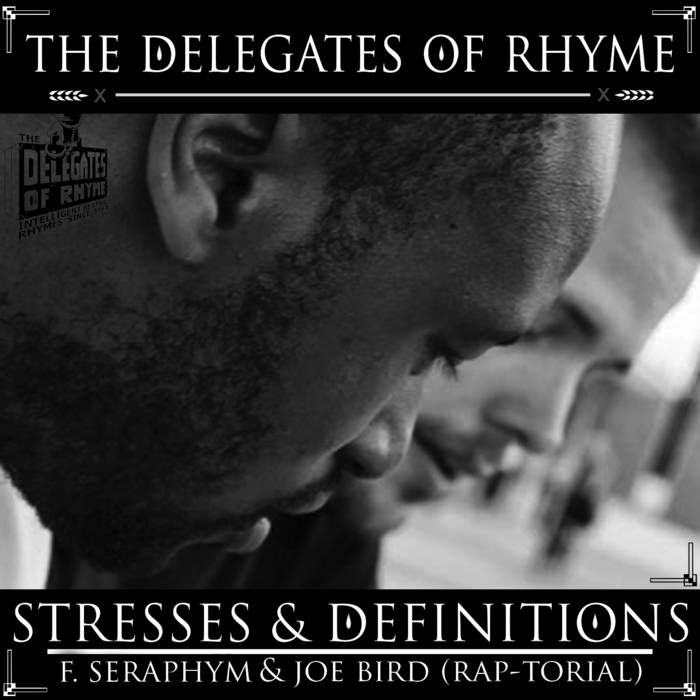 Stresses & Definitions f. Seraphym & Joe Bird cover art