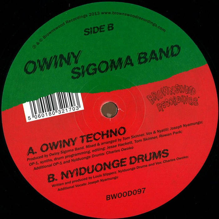 Owiny Techno cover art