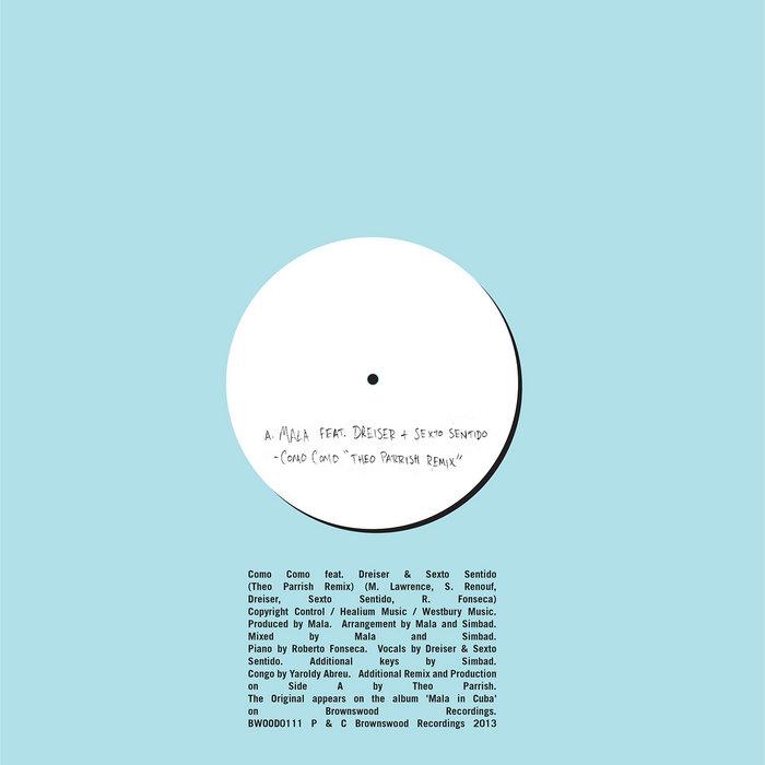Como Como feat. Dreiser & Sexto Sentido (Theo Parrish Remix) cover art