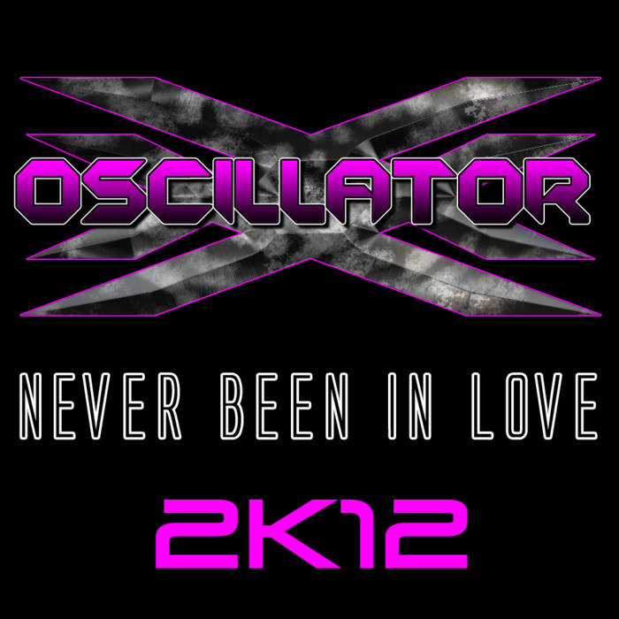 Never Been In Love 2k12 cover art