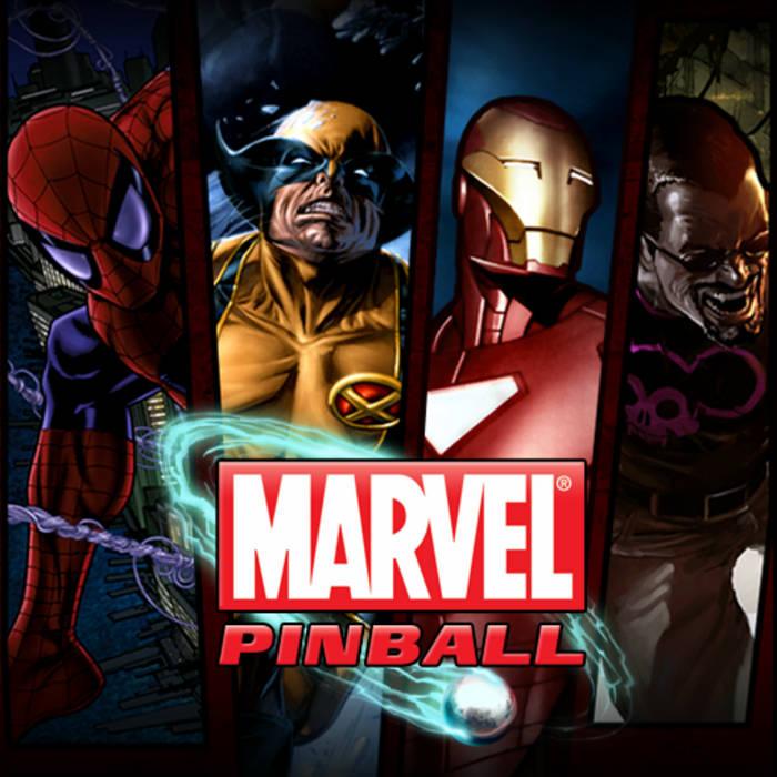 Marvel Pinball Original Soundtrack cover art