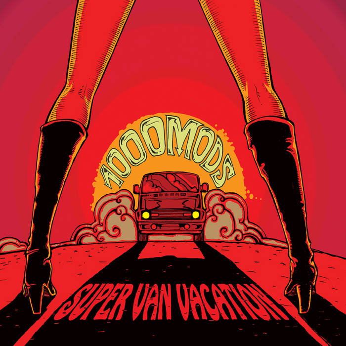 Super Van Vacation cover art