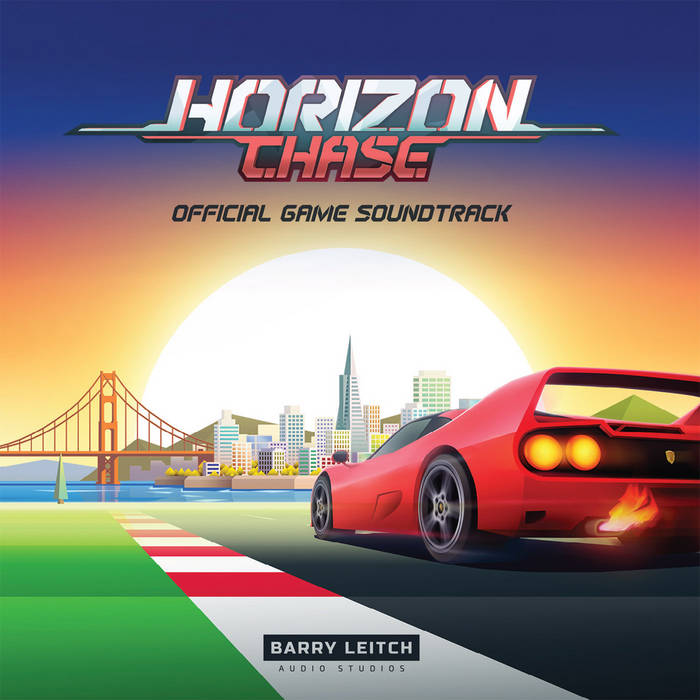Horizon Chase Official Soundtrack & Remixes cover art