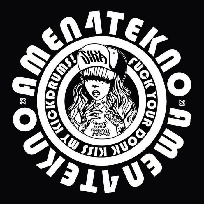 "AMEN4TEKNO 006 2X12""VINYL ALBUM LIMITED EDITION SIKA cover art"
