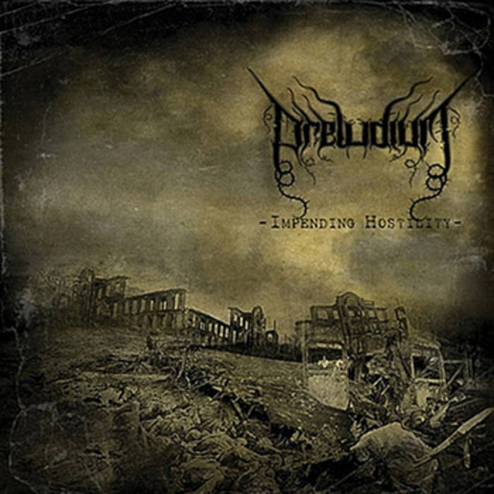 Impending Hostility (War Black/Death Metal) cover art