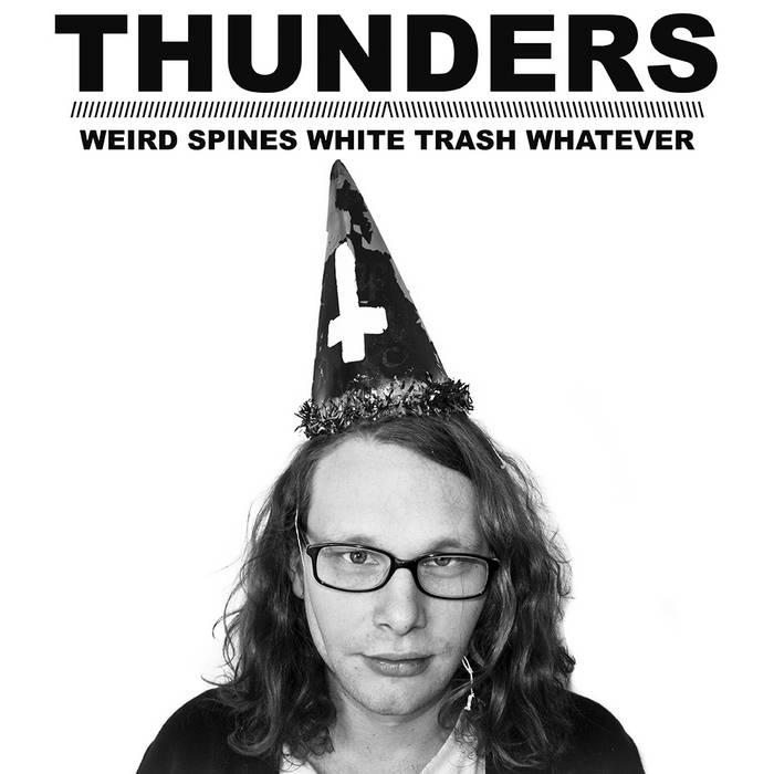 WEIRD SPINES WHITE TRASH WHATEVER cover art