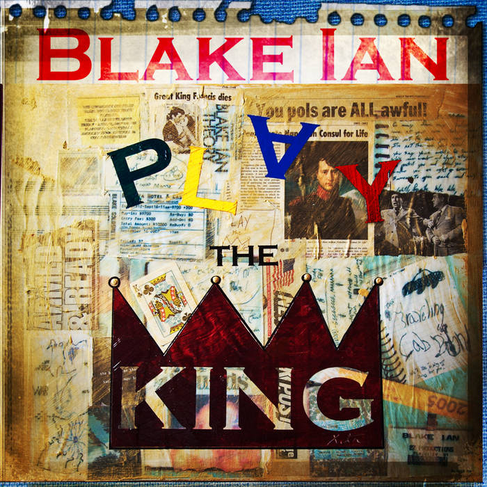 Play the King cover art
