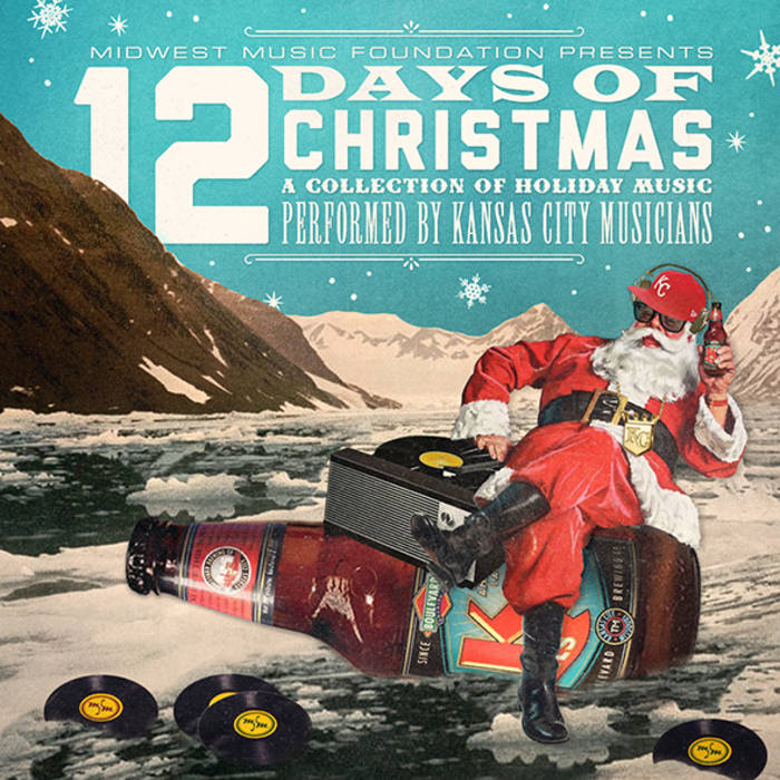 The 12 Days of Christmas compilation cover art