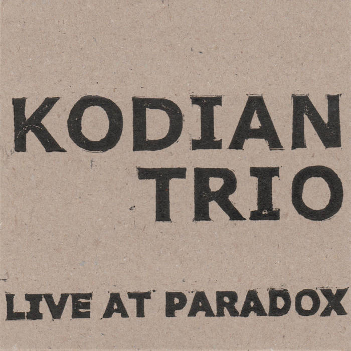 Live at Paradox cover art