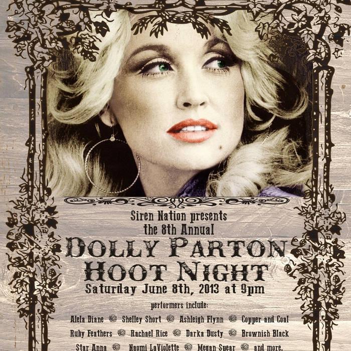 Dolly Parton Hoot Night Live at Alberta Rose Theatre cover art