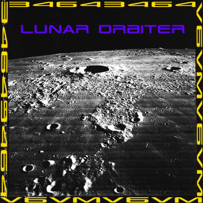 Lunar Orbiter cover art