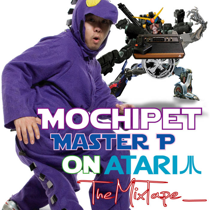Master P on Atari MixTape cover art