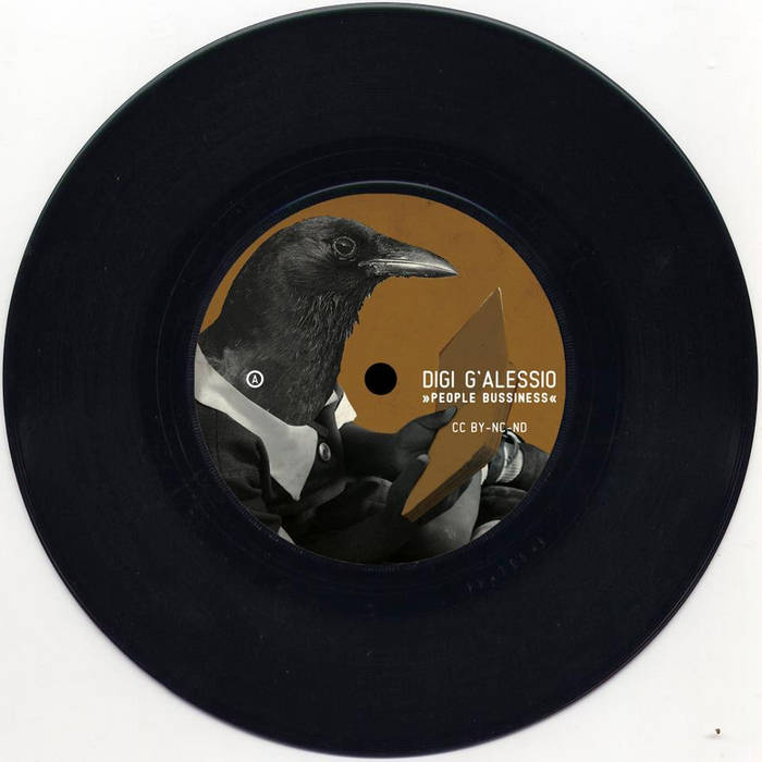 "the brown book 7"" vinyl cover art"