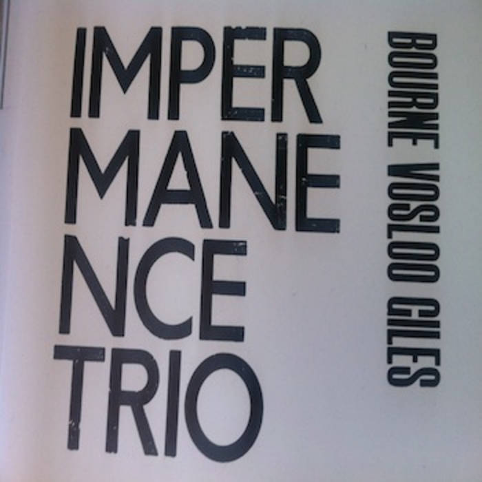 Impermanence  Trio/Tricko Tareco cover art