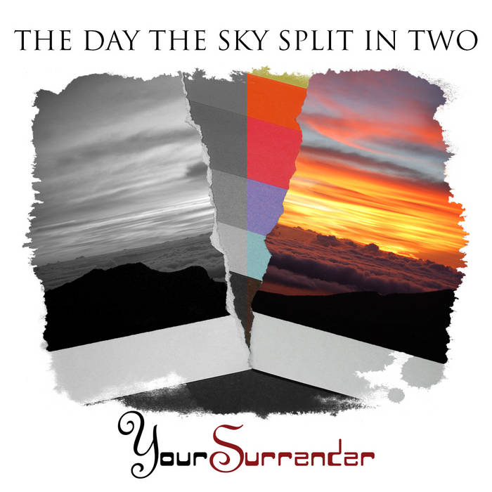 The Day The Sky Split In Two cover art