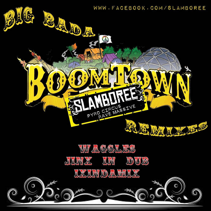 Big Bada Boomtown Remixes cover art