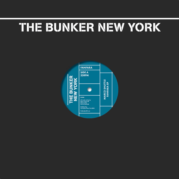 Fanfara EP (The Bunker New York 006) cover art