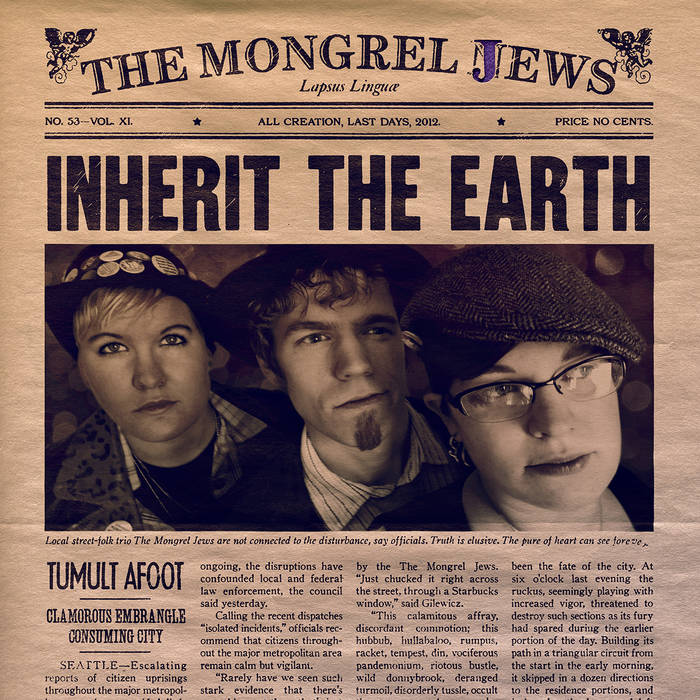 Inherit The Earth cover art