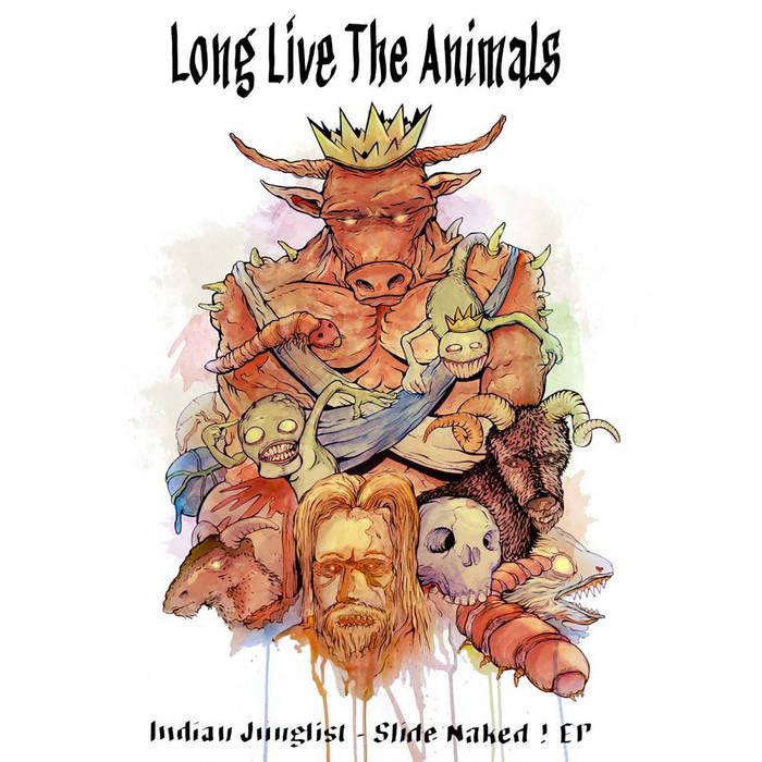 LLTA032 - Indian Junglist - Slide Naked! EP cover art