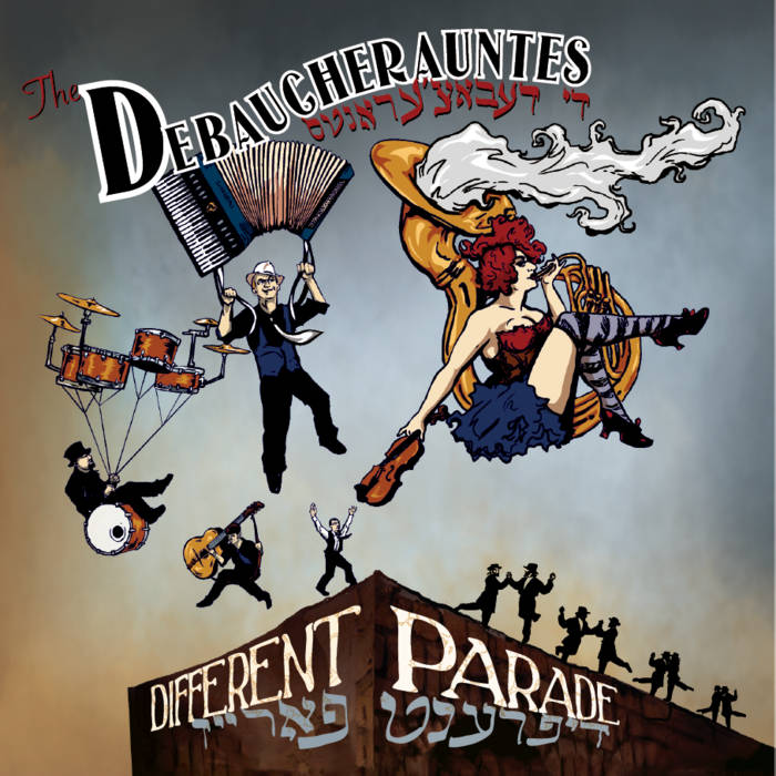 Different Parade cover art