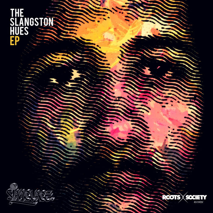 The sLangston Hues EP cover art
