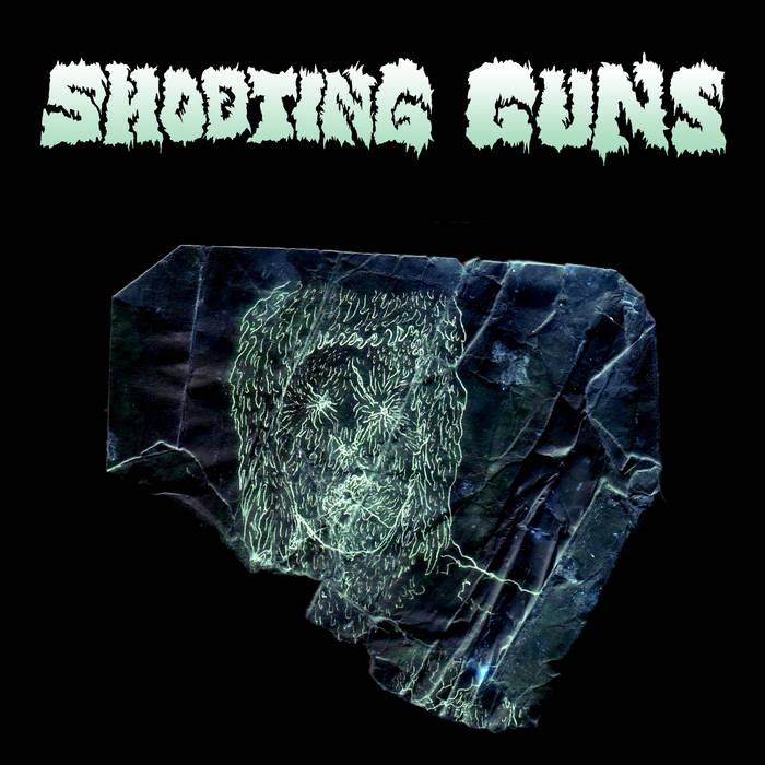 """Shooting Guns/Cult of Dom Keller Split 7"""" cover art"""