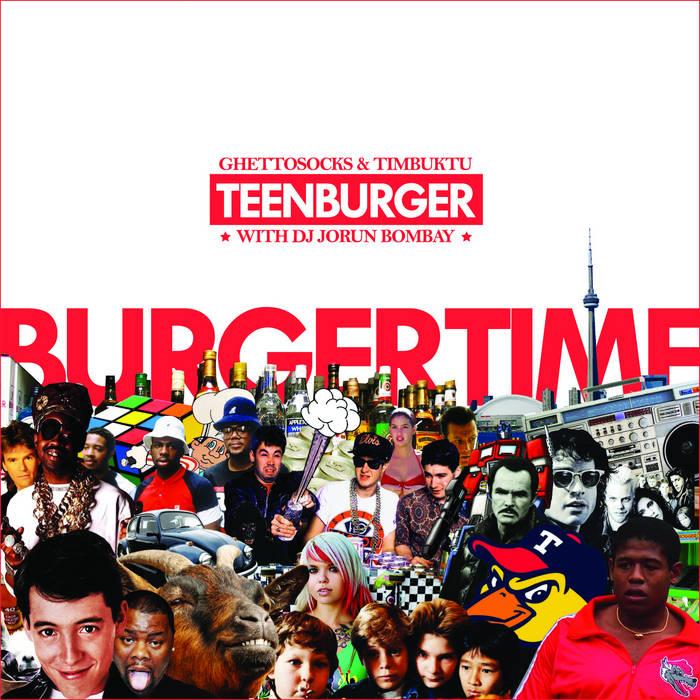 Burgertime cover art