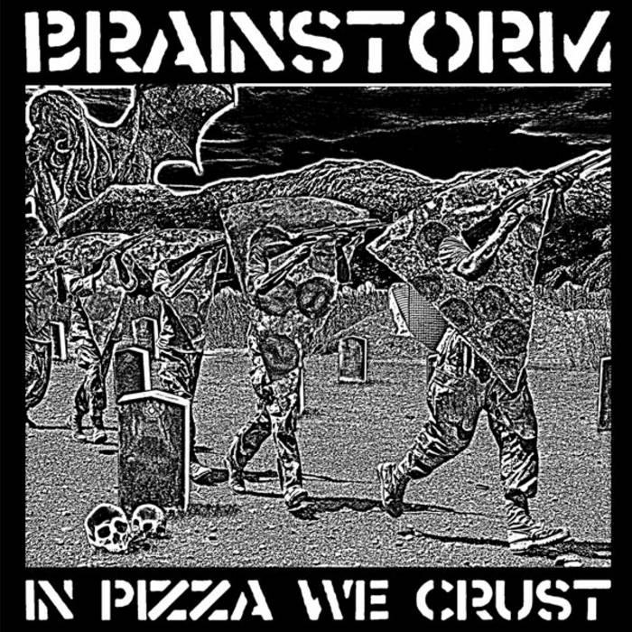 IN PIZZA WE CRUST cover art