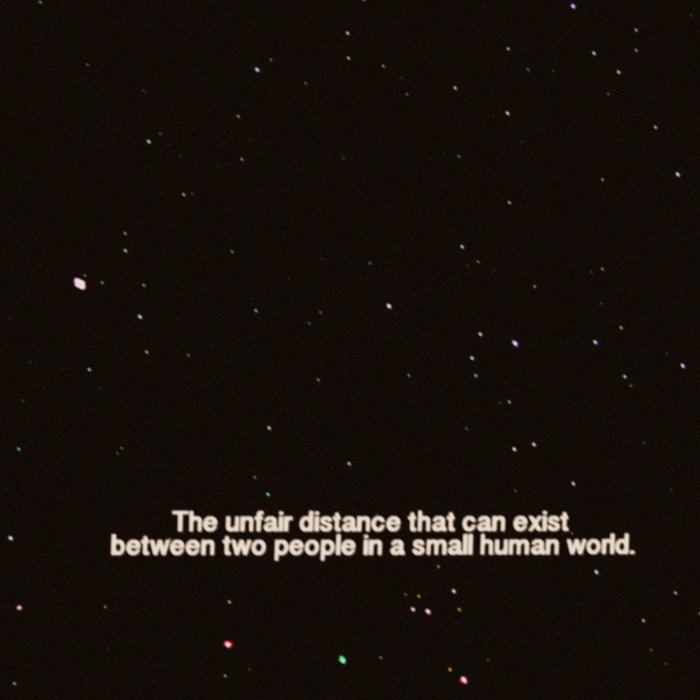 The Unfair Distance That Can Exist Between Two People in a Small Human World cover art