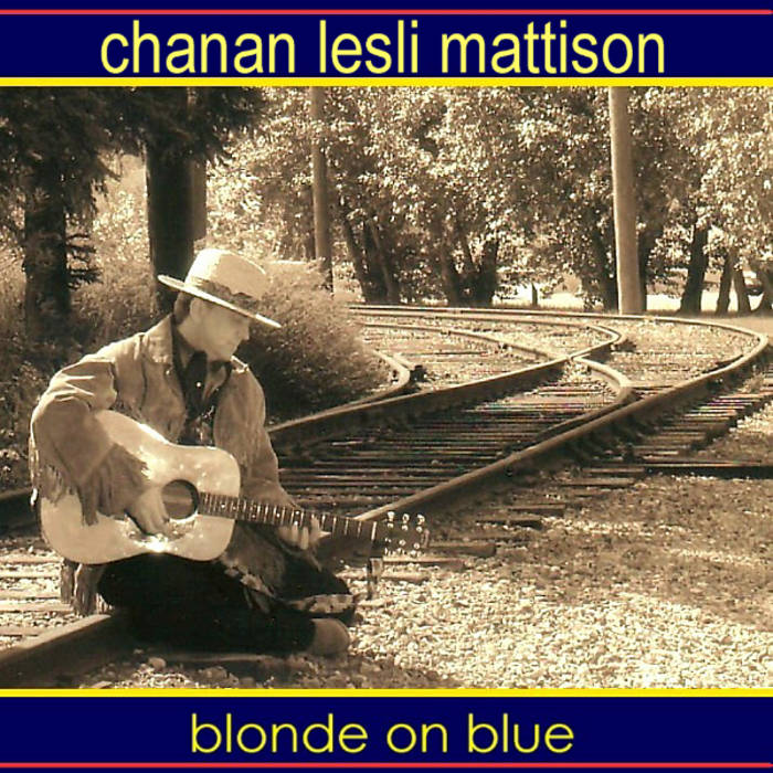 blonde on blue cover art