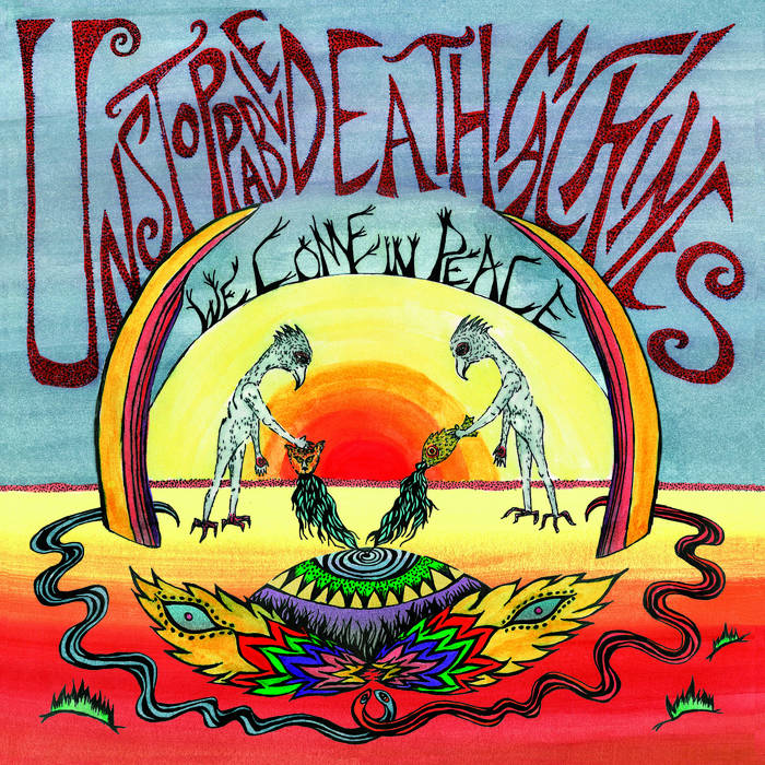 """We Come In Peace [12"""" LP/digital] cover art"""