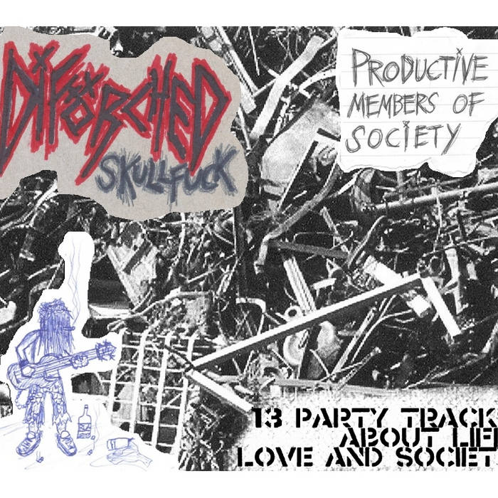 Productive Members Of Society EP cover art