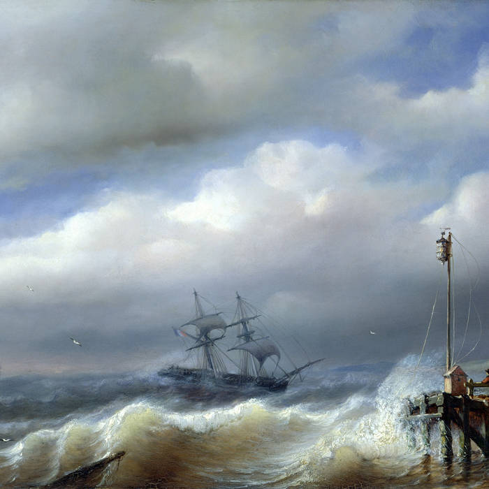 Hamlet riding the Ocean Storm cover art