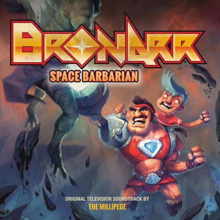 Bronarr: Space Barbarian cover art