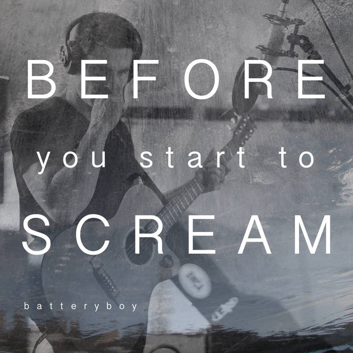 pre-sale exclusive! before you start to scream cover art