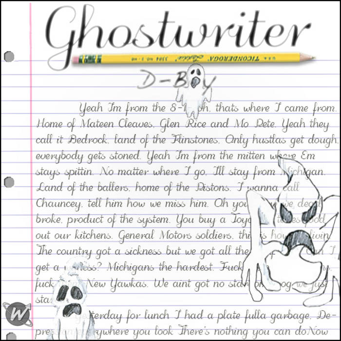 Ghostwriter cover art
