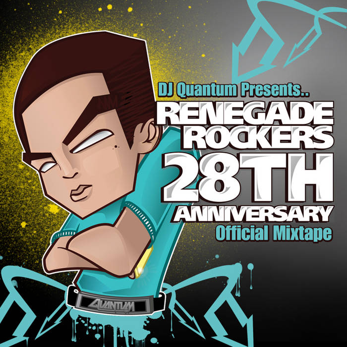 Renegade Rockers 28th Anniversary Official Mix cover art