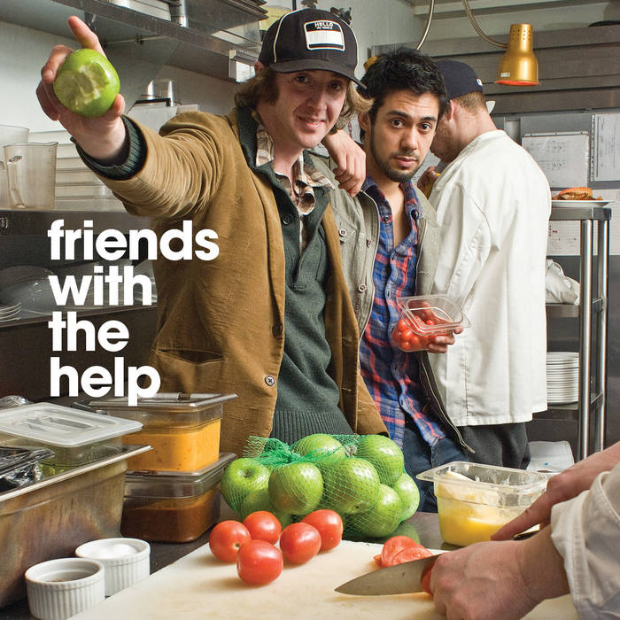 Friends With The Help mixtape cover art