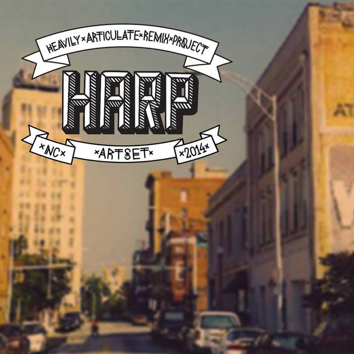 HARP (Heavily Articulate Remix Project) cover art