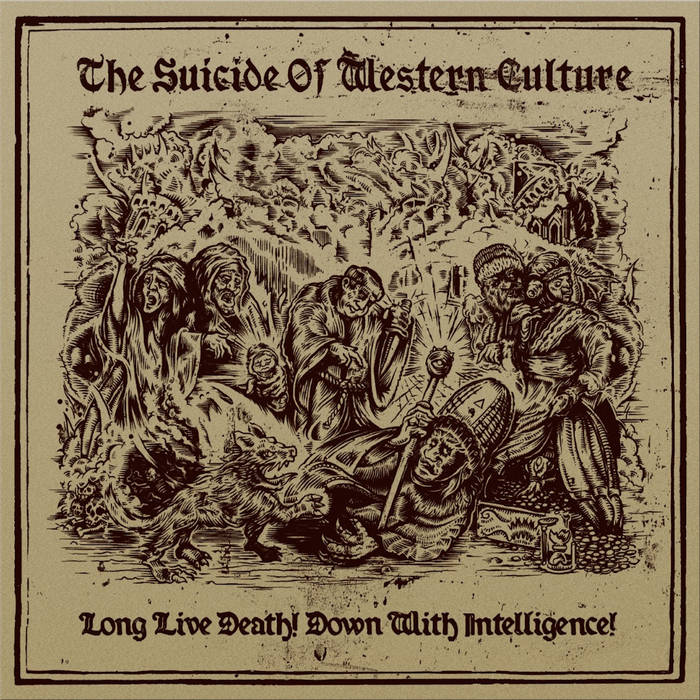 Long Live Death! Down With Intelligence! cover art