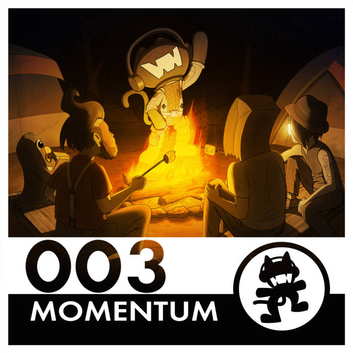 Monstercat 003 - Momentum cover art