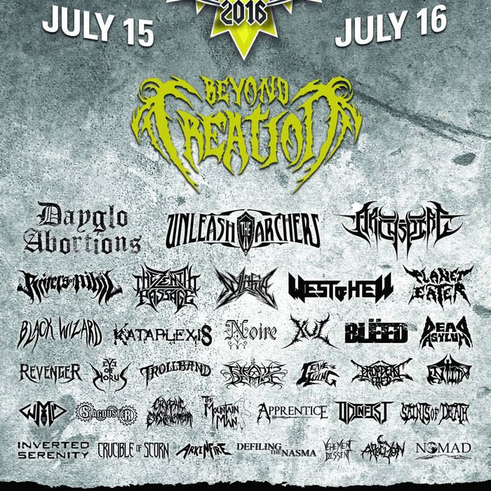 Armstrong MetalFest 2016 - Mountain Moshpit Vol. 1 cover art