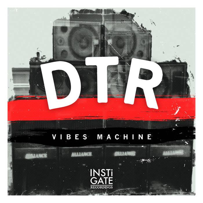 DTR - Vibes Machine LP cover art