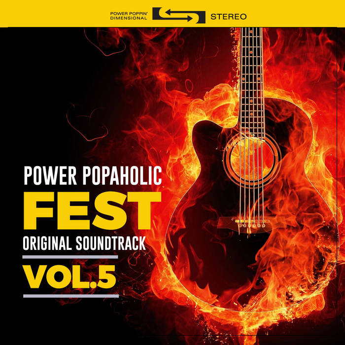 Power Popaholic Fest Original Soundtrack Vol​.​5 cover art