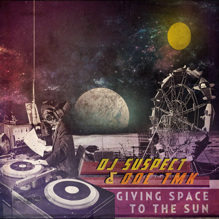Giving Space To The Sun cover art