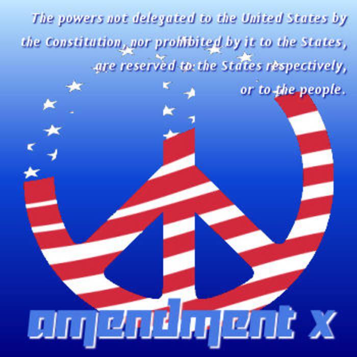 Amendment X cover art